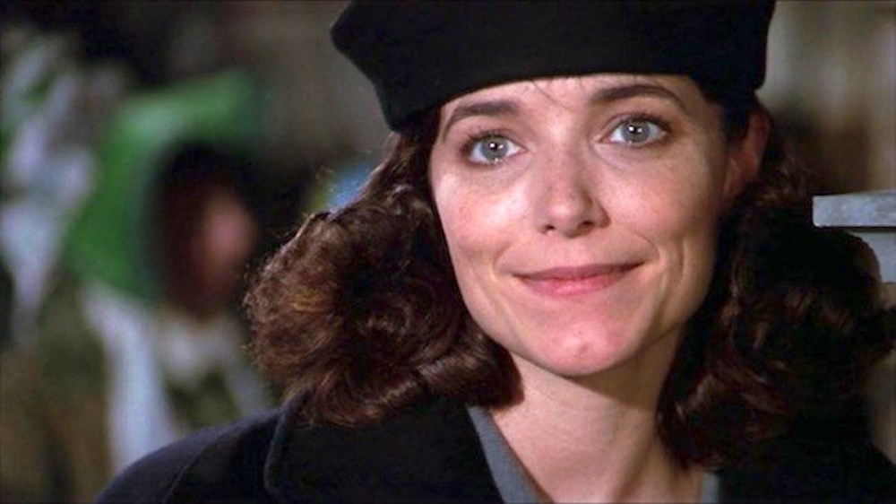 movies, scrooged, 1988, kathy allen as claire phillips