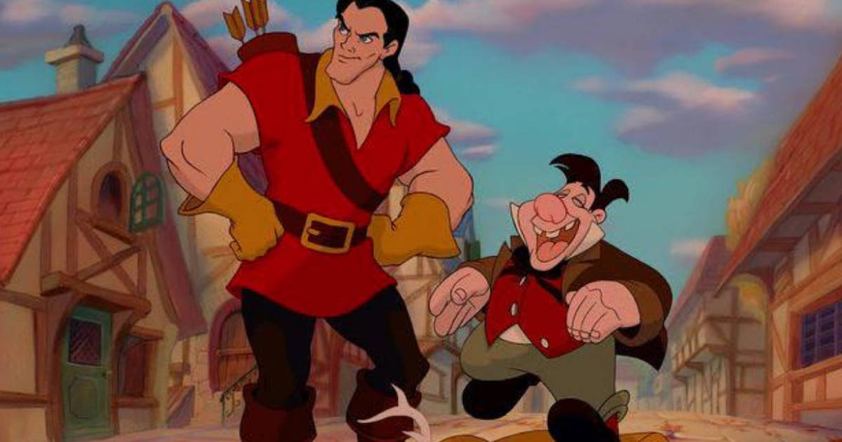 lefou, gaston, beauty and the beast, Disney