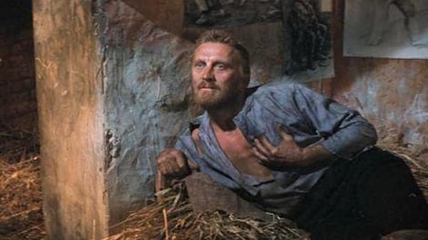 movies, celebs, lust for life, 1956, kirk douglas as vincent van gogh