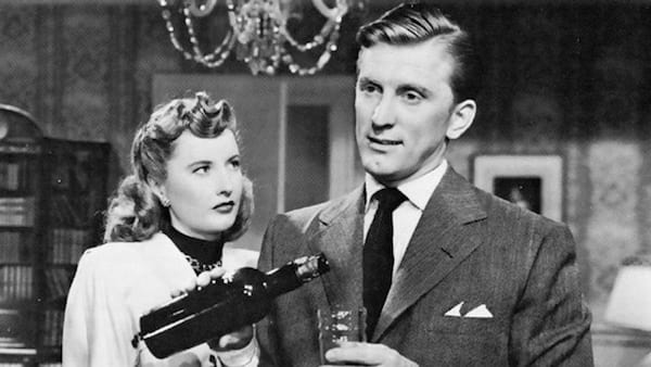 movies, celebs, the strange loves of martha ivers, 1946, barbara stanwyck, kirk douglas