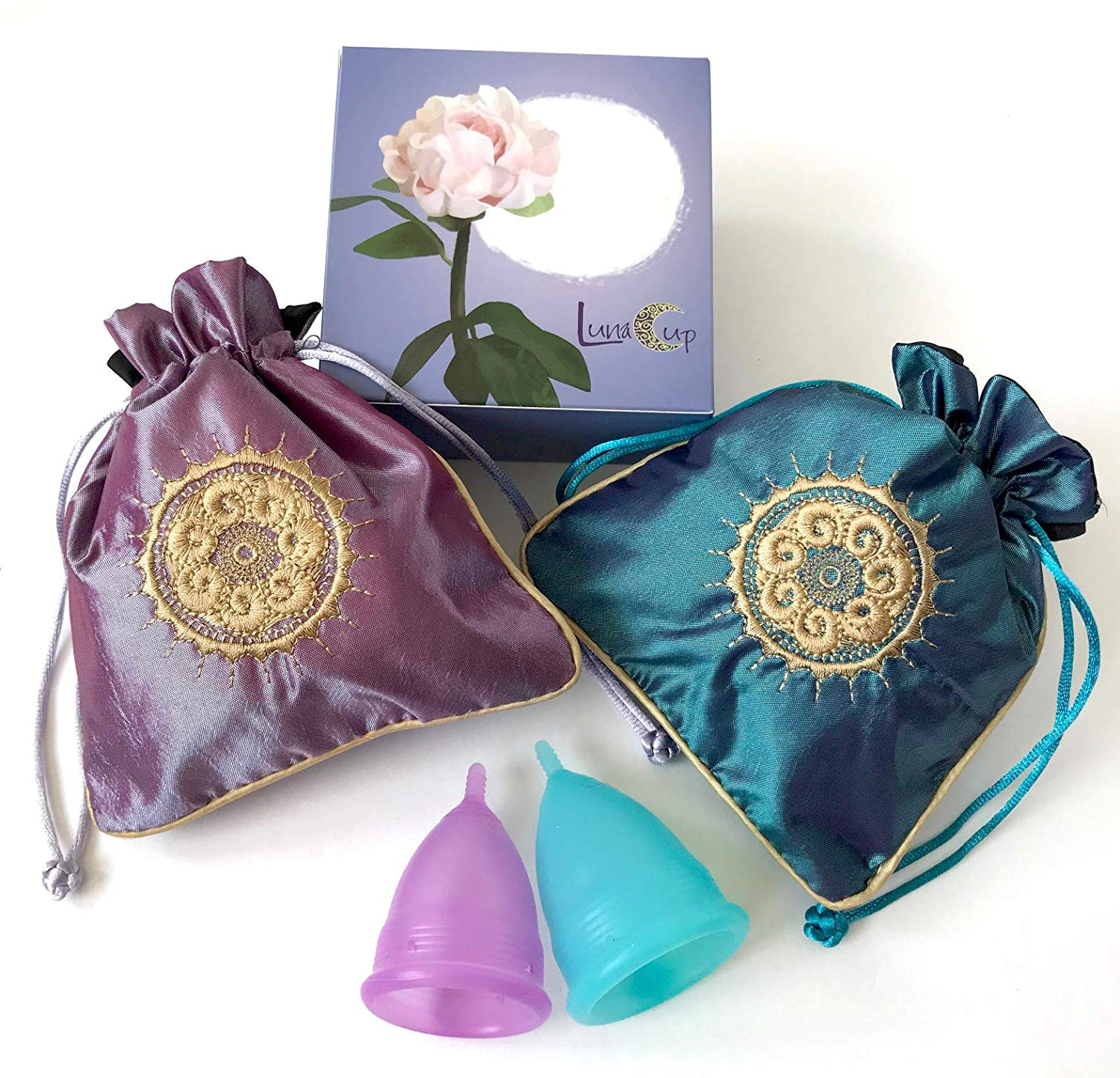 Luna Menstrual Cup set of 2 from Amazon
