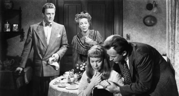 movies, the glass menagerie, 1950, kirk douglas