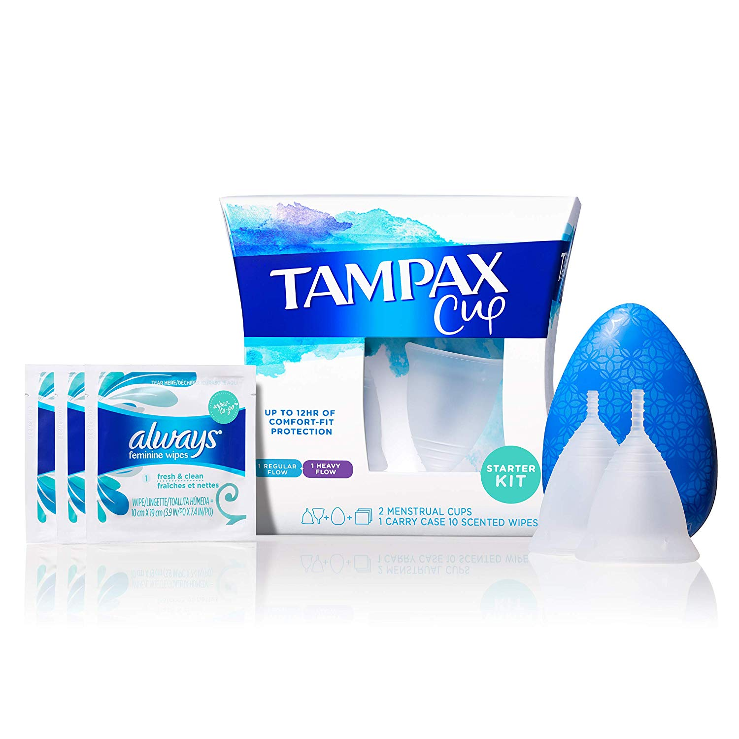 Tampax Menstrual Cup Starter Kit from Amazon