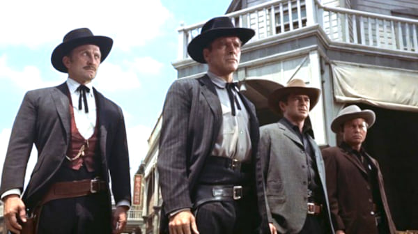 movies, celebs, gunfight at o.k. corral, 1957, kirk douglas, burt lancaster