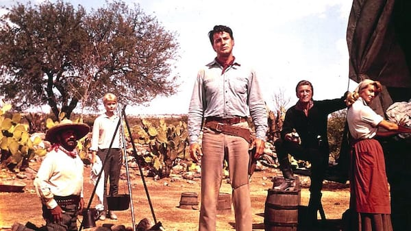 movies, the last sunset, 1961, Rock Hudson, kirk douglas