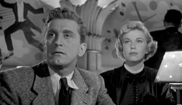 movies, celebs, young man with a horn, 1950, kirk douglas, doris day