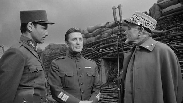 movies, celebs, paths of glory, 1957, kirk douglas