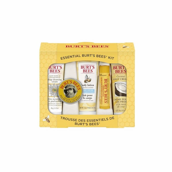 Burt's Bees Essential Everyday Beauty Gift Set from Amazon