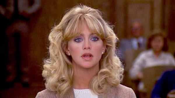 lawyer, movies, blond, thinking, hero, smart, Foul Play, Goldie Hawn