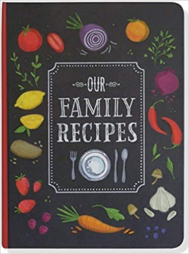 Our Family Recipes Journal from Amazon