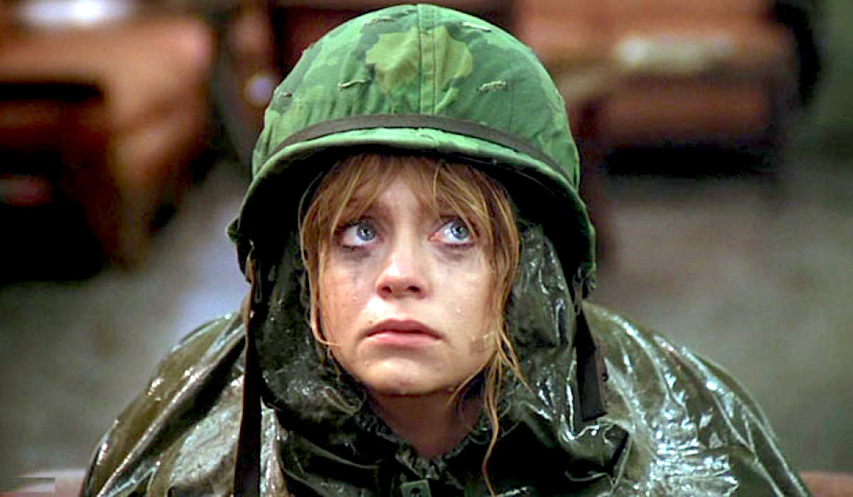 Private Banjamin, Goldie Hawn, military, usa, army, soldier, salute, america, history, movies