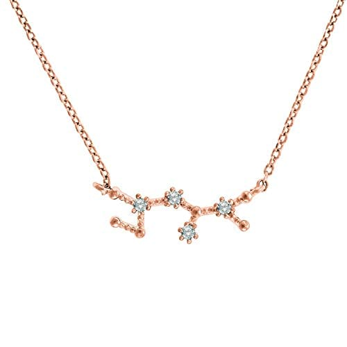 Zodiac sign constellation necklace from Amazon