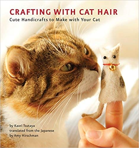 Crafting With Cat Hair craft book from Amazon