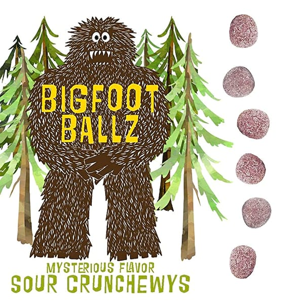 Bigfoot Ballz Sour Candy from Amazon
