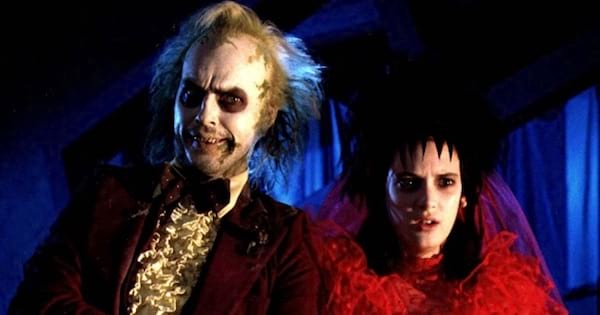 beetlejuice and woman ghost