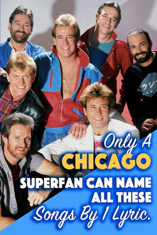 Quiz: Only Chicago Superfans Can Name All These Songs By One