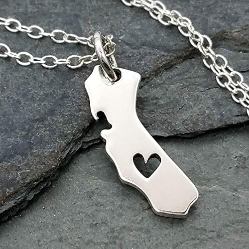 Heart of California necklace