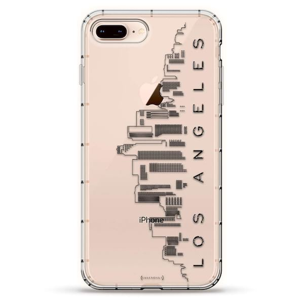 Los Angeles skyline iPhone case from Amazon