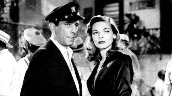movies, celebs, to have and have not, 1944, Humphrey Bogart, Lauren Bacall