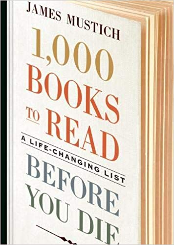 1, 000 Books to Read Before You Die book cover from Amazon