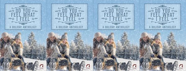 books, the cover of the holiday anthology Do You Feel What I Feel, Holiday Books For Bi and Lesbian Romantics