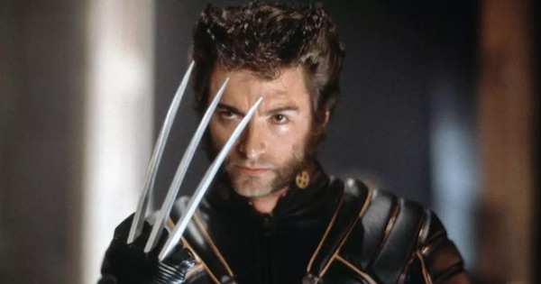 the wolverine holding up claw, marvel movies