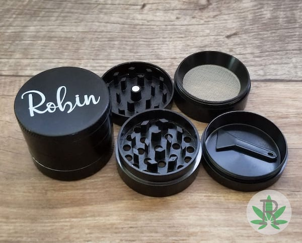 Personalized grinder from Etsy