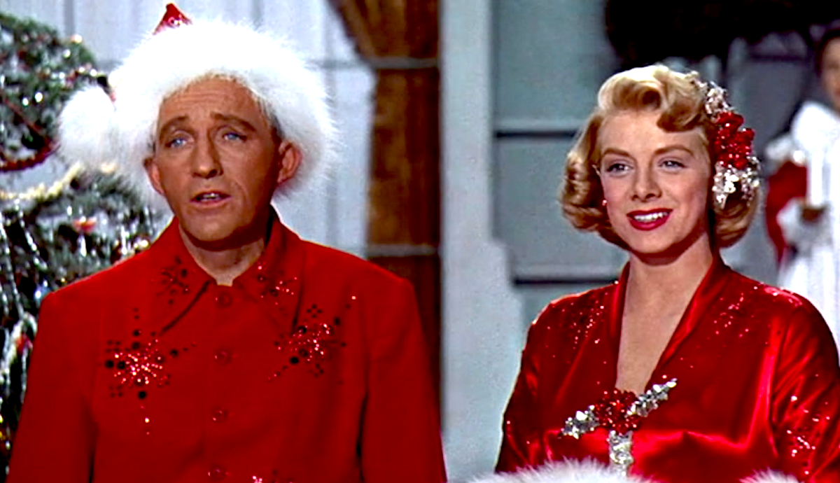 movies, celebs, White Christmas, 1954, bing crosby, rosemary clooney