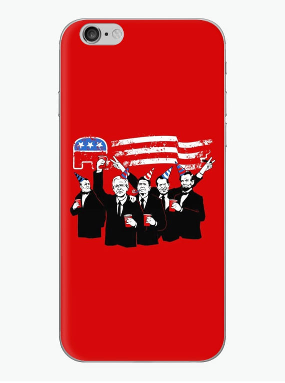 Republican Party iPhone case from Redbubble