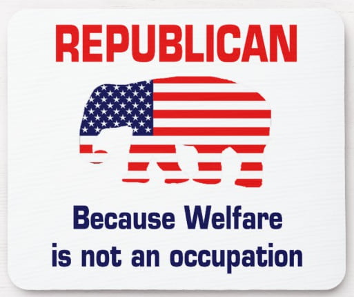 Republican mouse pad from Zazzle