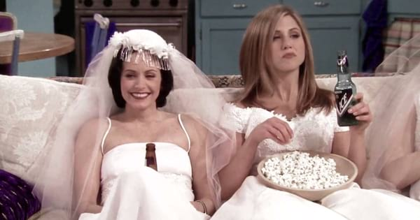 Scene from the TV show 'Friends.'