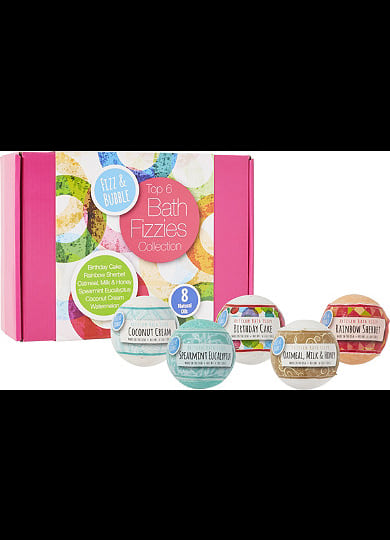 6-Pack Bath Fizzy Gift Box from Ulta