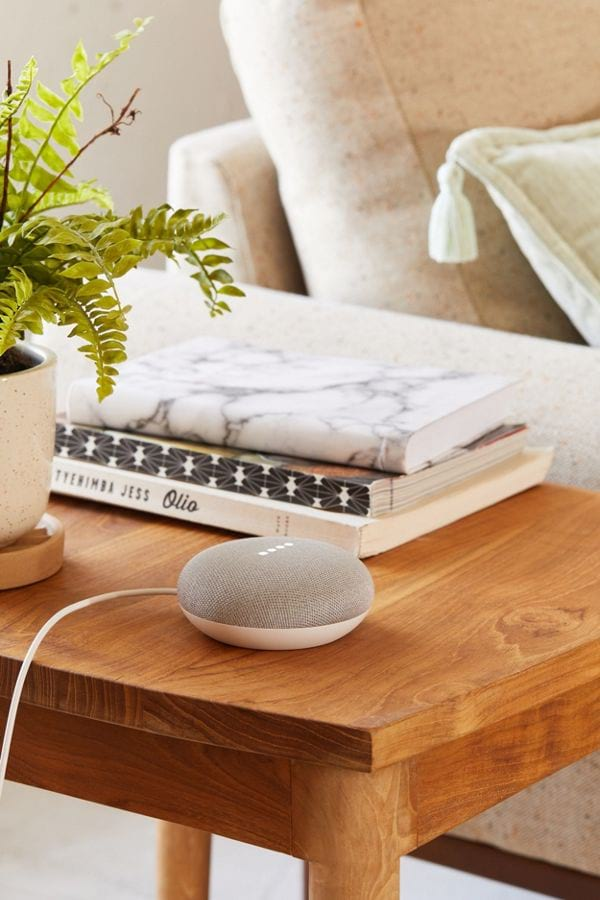 Google Home Mini from Urban Outfitters