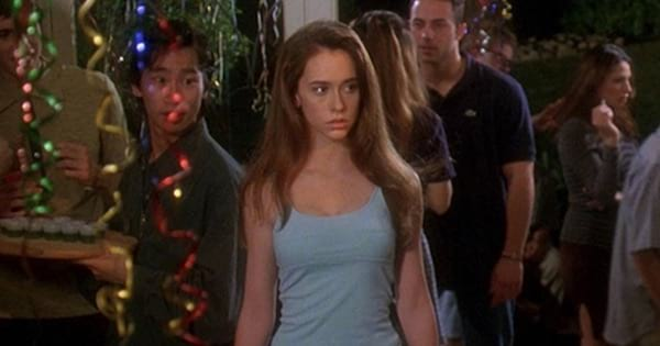 jennifer love hewitt at a party in can't hardly wait, romantic comedy movies