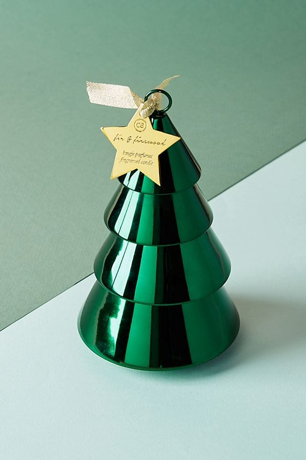 Capri Blue Stacking Tree Candle from Anthropologie