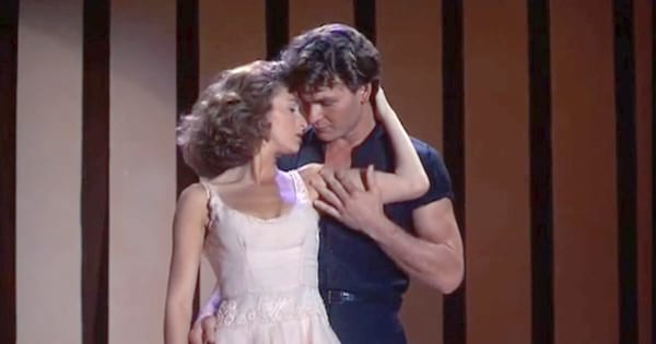 The finale dance scene from Dirty Dancing