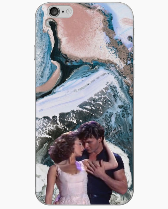 Baby and Johnny iPhone case from Redbubble