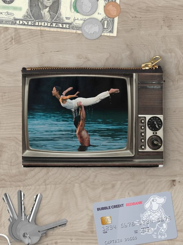 'Dirty Dancing' makeup bag from Redbubble
