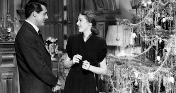movies, celebs, the bishop's wife, 1947, Cary Grant, loretta young