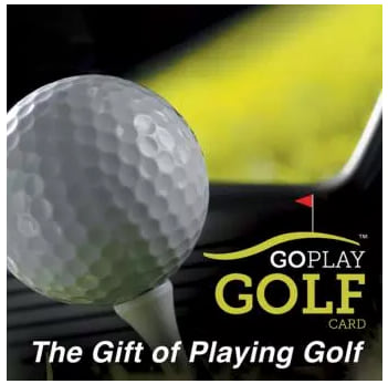 Go Play Golf e-gift card from Cloud 9 Living
