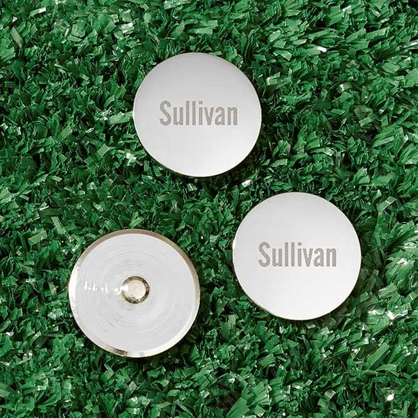 Personalized golf ball markers from PersonalizationMall.com