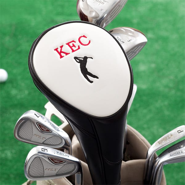 Personalized golf club cover from PersonalizationMall.com