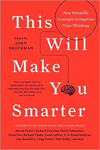 This Will Make You Smarter book cover from Amazon