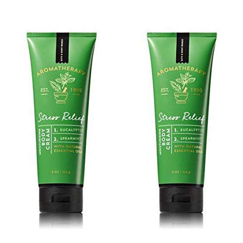 Bath & Body Works stress relief body cream