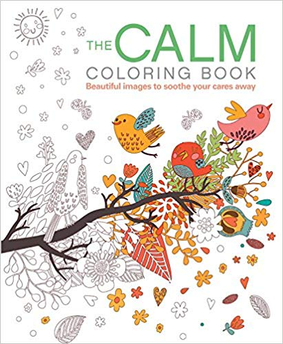 The Calm Coloring Book from Amazon