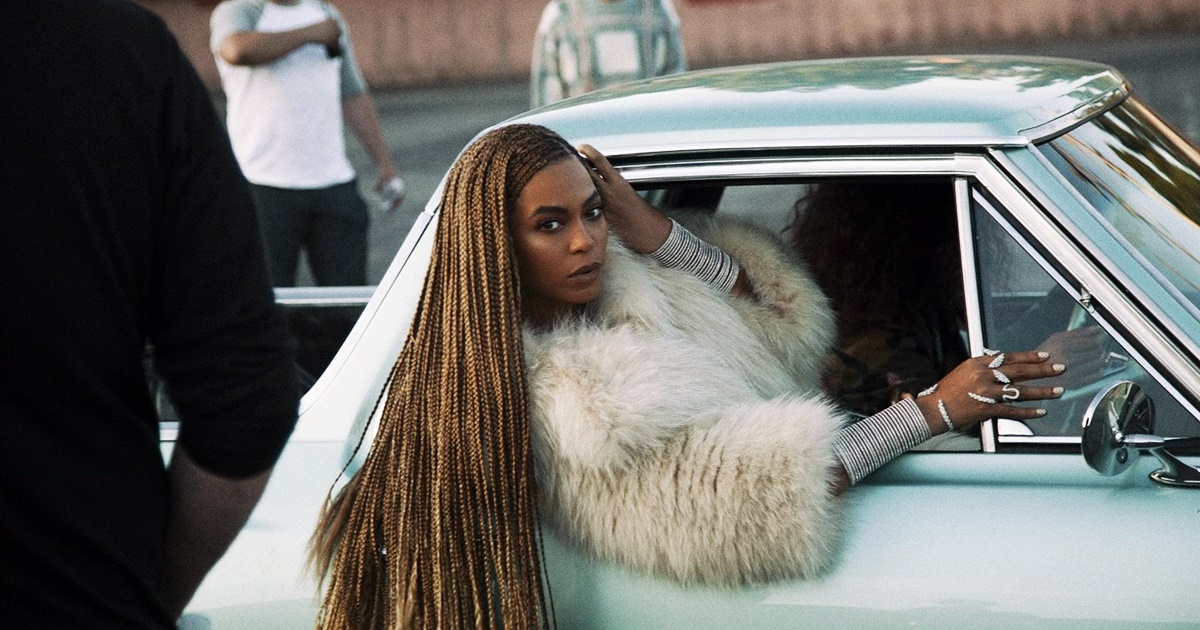 Beyonce Instagram Captions, Beyonce leaning out of the car in the Formation music video, pop culture, Music, celebs