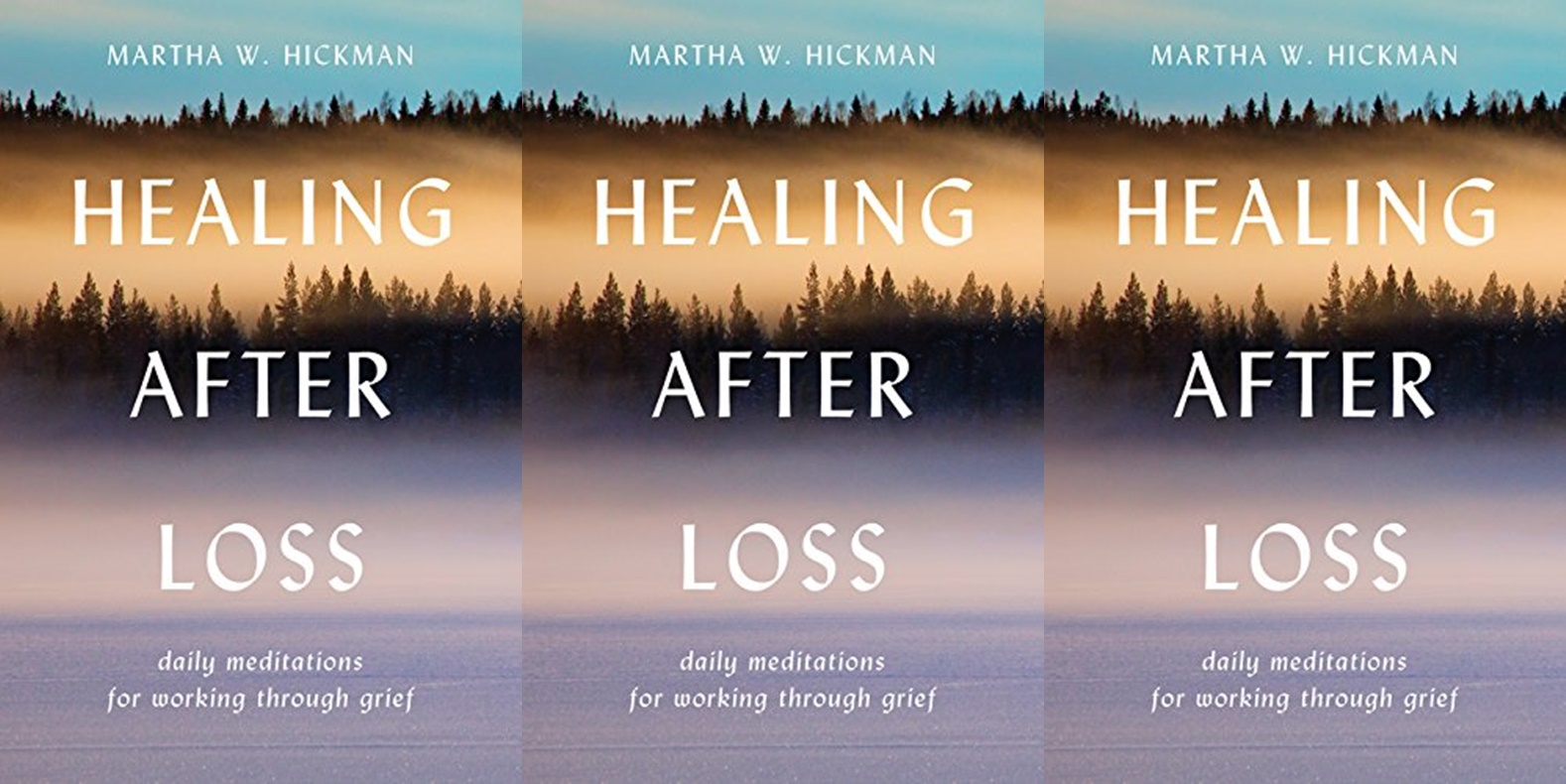 Books to Read When You're Grieving, the cover of Healing After Loss, books