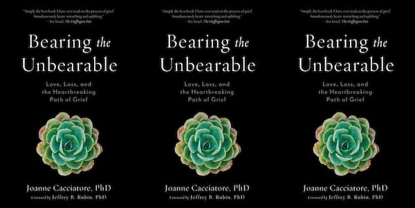 Books To Read While Grieving, the cover of Bearing the Unbearable, books