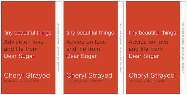 Books To Read While Grieving, the cover of Tiny Beautiful Things, books