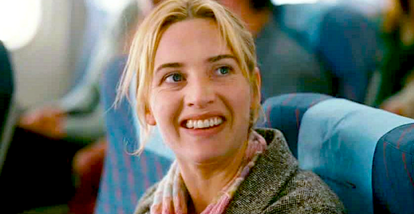 travel, airplane, kate winslet, the holiday